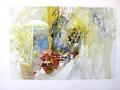 Hannelore Sollmann - Oleander und Gartenschirm