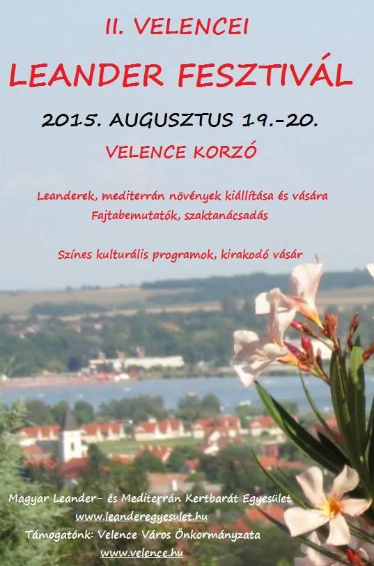 II. Leander Fesztivál plakát